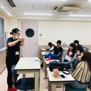 作業療法士学科 夜間部 ゼミ活動!