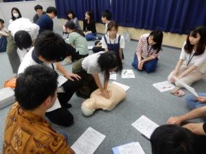 言語聴覚士学科 救命救急講習を受けました!