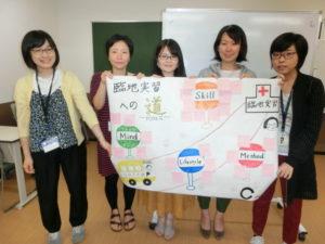 視能訓練士学科1年制 見学実習報告会を行いました!