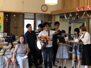 軽音楽部 演奏会を行いました!
