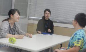 言語聴覚士学科 1年生ことばの相談室実習が始まりました!