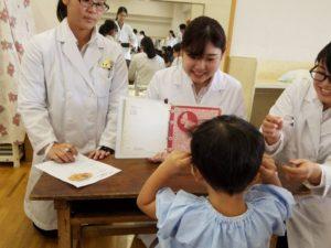 視能訓練士学科3年制 幼稚園実習の日がやってきました!