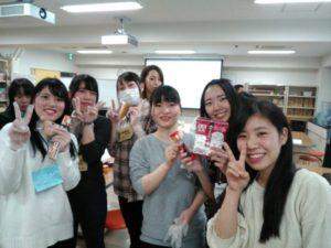 作業療法士学科 学生交流会参加 ~お菓子の家づくり~