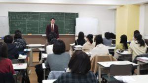 視能訓練士学科1年制 特別講義を行いました!