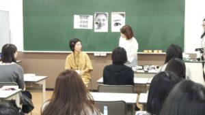 視能訓練士学科1年制 マナー講習・メイク講習を実施しました!