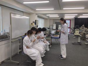 視能訓練士学科3年制 問診OSCEを行いました!