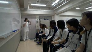 作業療法士学科 授業風景 ~作業療法評価学実習篇~