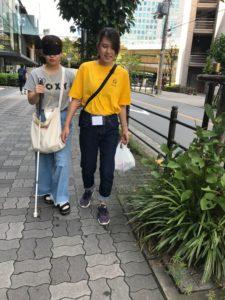 視能訓練士学科3年制 視覚障がい者ガイドヘルパー養成講座vol.2