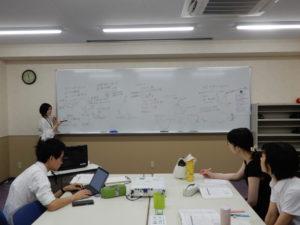 言語聴覚士学科 勉強会頑張っています!