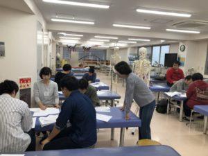 理学療法士学科 同窓会技術研修会