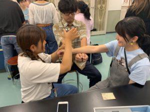 作業療法士学科 寺子屋開催中!