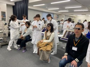 視能訓練士学科3年制 2年生オープンスクール