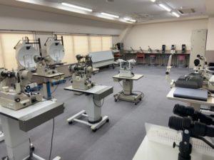 視能訓練士学科 実習室の大掃除をしました!
