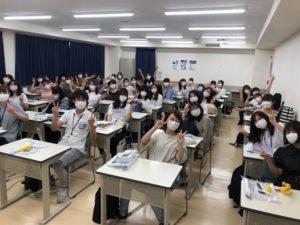 視能訓練士学科3年制 通常登校が始まりました!