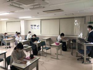 作業療法士学科 分散登校開始!