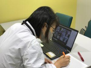 視能訓練士学科1年制 実力試験を遠隔で実施しました!