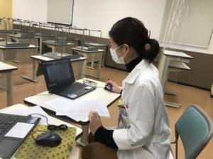 視能訓練士学科1年制 3期目臨床実習