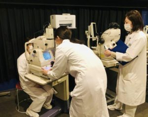 視能訓練士学科3年制 実習前実技試験3日目