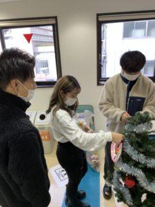 診療情報管理士学科 クリスマスツリー