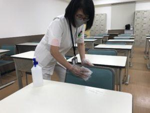 視能訓練士学科1年制 入試対策イベントに向けて…感染対策万全に!