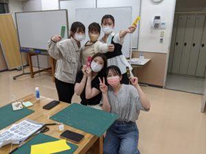 作業療法士学科 「基礎作業学実習」切り絵の作成(^^♪