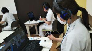 視能訓練士学科1年制  『実習指導者会議(ZOOM)』