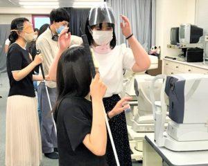 視能訓練士学科1年制 『視覚障害総論』授業風景☆彡