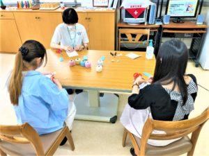 作業療法士学科 『オープンキャンパス☆ものづくり』
