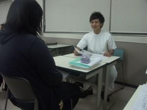 作業療法士学科 夜間部1年生がOSCEに挑戦!