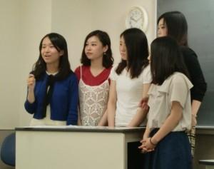 視能訓練士学科3年制 実習中の3年生が登校しました!