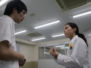 視能訓練士学科3年制 医療コミュニケーション確認試験を行いました!