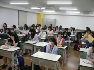 視能訓練士学科1年制 実習前授業!