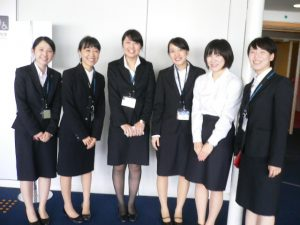 視能訓練士学科1年制 「日本視能矯正学会」に参加しました!