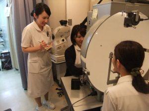 視能訓練士学科1年制 2期目の実習頑張ってます!