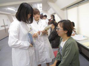 視能訓練士学科3年制 授業参観を行いました!