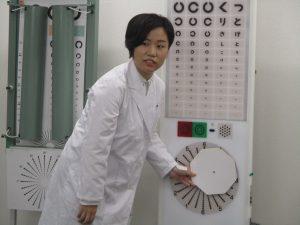 視能訓練士学科3年制 1年生と3年生による合同授業を行いました!Vol.2