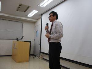 視能訓練士学科3年制 卒業研究の特別講義を受けました!