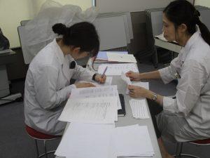 視能訓練士学科3年制 2年生の英語の授業を紹介します!