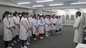 視能訓練士学科1年制 電気生理の特別授業