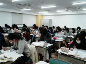 視能訓練士学科1年制 年明け!国家試験対策いよいよ本番!
