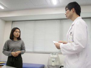 視能訓練士学科3年制 「報告・連絡・相談」確認試験を行いました!