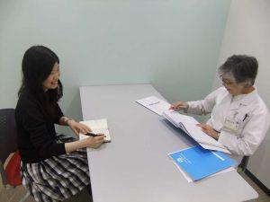 視能訓練士学科1年制 「個人面談」が始まりました!