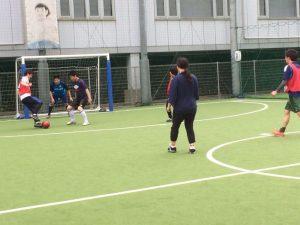 サッカー部 新入生歓迎フットサルを行いました!