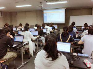 作業療法士学科  「情報科学」の授業の様子を紹介します!