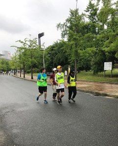 視能訓練士学科3年制 「長居わーわーず」の定期練習会!Vol.3
