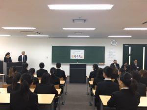 作業療法士学科 上海から作業療法士学科の学生が来校!