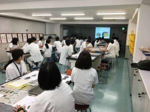 作業療法士学科 「鶏肉解剖実習」の講義を受けました!
