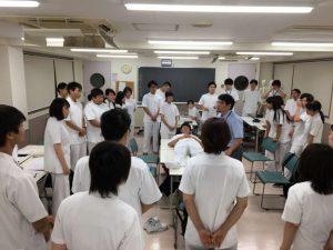 作業療法士学科夜間部 「日常生活活動学」の授業を紹介します!