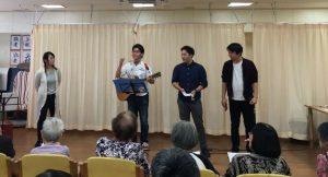 軽音楽部 ボランティア演奏を行いました!