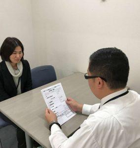 視能訓練士学科1年制 就職活動の模擬面接を行いました!